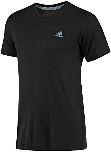 New Adidas Men's Climalite Short Sleeve T-Shirt Black XX-Large