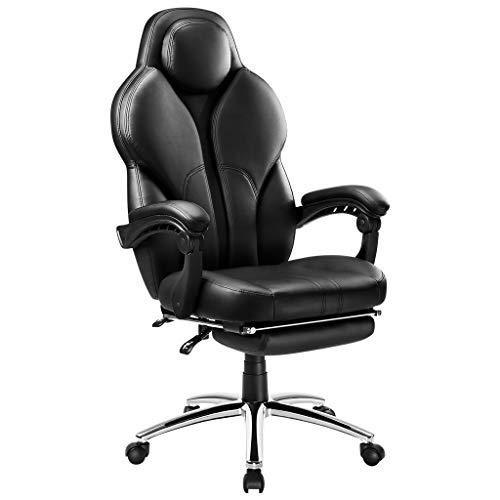 Langria Swivel Office Chair Racing Gaming Chair Ergonomic