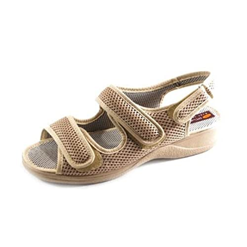 ZAPATOP , sandales femme - marron - Brun, 35 EU