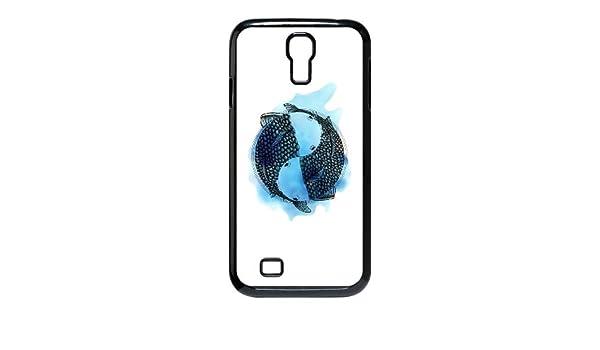 Samsung Galaxy S4 9500 Cell Phone negro Piscis signo del zodiaco ...
