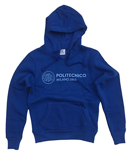 Colour Linea Uomo Politecnico Milano Azzurro Istituzionale Felpa 1863 rxtXgYt