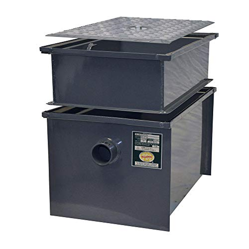 BK Resources BK-GT-EXT20 Grease Trap Extender, fits 20 lbs capacity trap (BK-GT-20), 6 inch extension, does not increase capacity ()