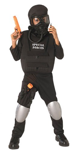 Army Men Costume - Child's Special Forces Costume, Large