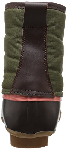 Duck Chief Boot Green Western Eye Four Women's Rain Nylon nIgnqRUBx