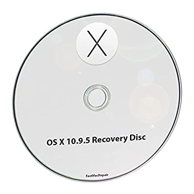Mac OS X 10.9 Mavericks 10.9.5 Full OS Install - Reinstall / Recovery Upgrade Downgrade / Repair Utility Factory Reset Disk Drive Setup Disc CD DVD