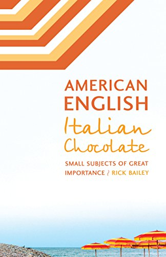 american english italian chocolate small subjects of great  american english italian chocolate small subjects of great importance by  bailey rick