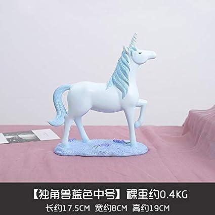 Amazon.com: mqlerry Office Gifts Desktop Unicorn Ornaments ...