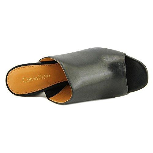 Calvin Klein - Zuecos para mujer Black