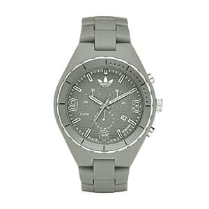adidas Adh2522 - Reloj para hombres, correa de plástico color gris