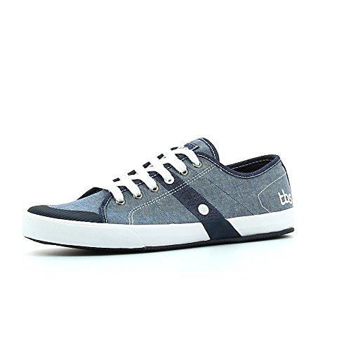 TBS Henley Chambray - Sneaker Herren 42 Jeans