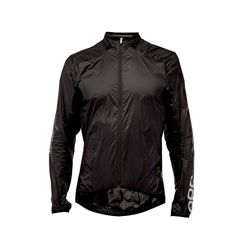 POC Essential Road Wind Jacket, Cycling Jacket, Uranium Black, M
