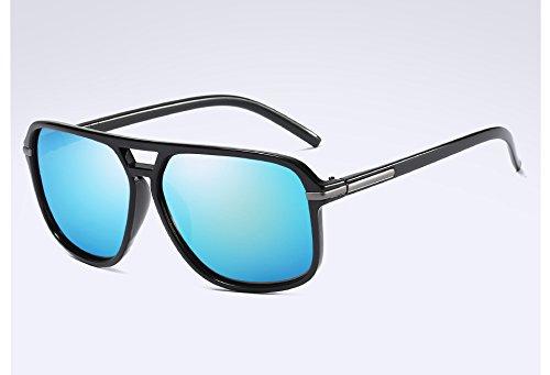 de Homme TL Tons Hommes black des de Lunettes Lunettes Soleil Sunglasses Lunettes Polarisée Guide blue Vintage Accessoires FIqxwFr6n
