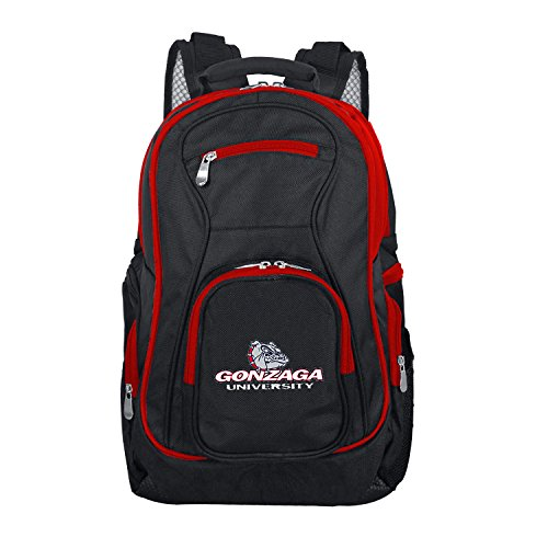 NCAA Gonzaga Bulldogs Colored Trim Premium Laptop Backpack ()