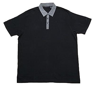 Sean John Polo Collared T-Shirt Chambray Pique