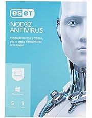 ESET Eset Nod32 Antivirus 5 1 Año (5-Users)