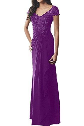 Violett Spitze La Langes Damen Ballkleider Abendkleider Marie Braut Etuikleider Brautmutterkleider qpwR4vA