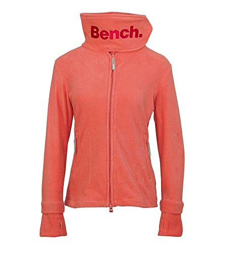 Bench Damen Funnel Neck Fleecejacke, Light Pink, L