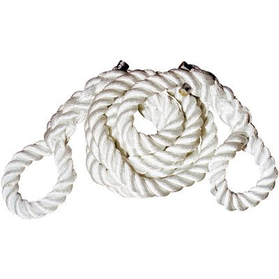 Hercules 2 1/2in. x 25ft. Nylon Tow Rope with Eyes, Model# T8025E by Hercules Tow Ropes
