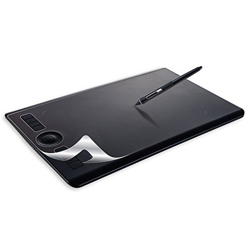 ELECOM-Japan Brand-Film for Wacom Pen Tablet Intuos Pro(Medium) Pro Paper Edition(Medium) Paper-Feel Anti Fingerprint Anti Reflection TB-WIPMFLAPL