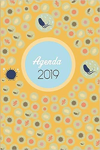 Agenda 2019: Agenda Mensual y Semanal + Organizador I Cubierta con tema de MicrobiologiaI Enero 2019 a Diciembre 2019 6 x 9in (Spanish Edition): Casa Medica ...