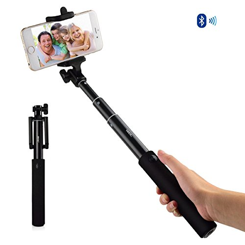 iphone accessories bluetooth selfie stick ixcc aluminum wireless selfiestick built in remote. Black Bedroom Furniture Sets. Home Design Ideas