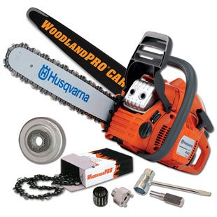 Husqvarna 445 Chainsaw Carving Package