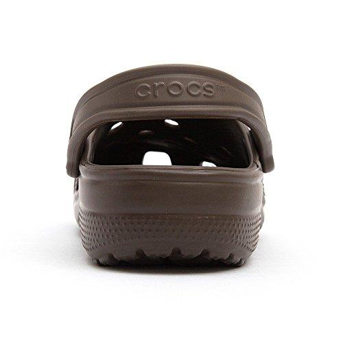 Crocs Classic, Zuecos Unisex Adulto Chocolate