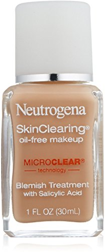 Neutrogena SkinClearing Oil-Free Makeup, Medium Beige [80] 1 oz