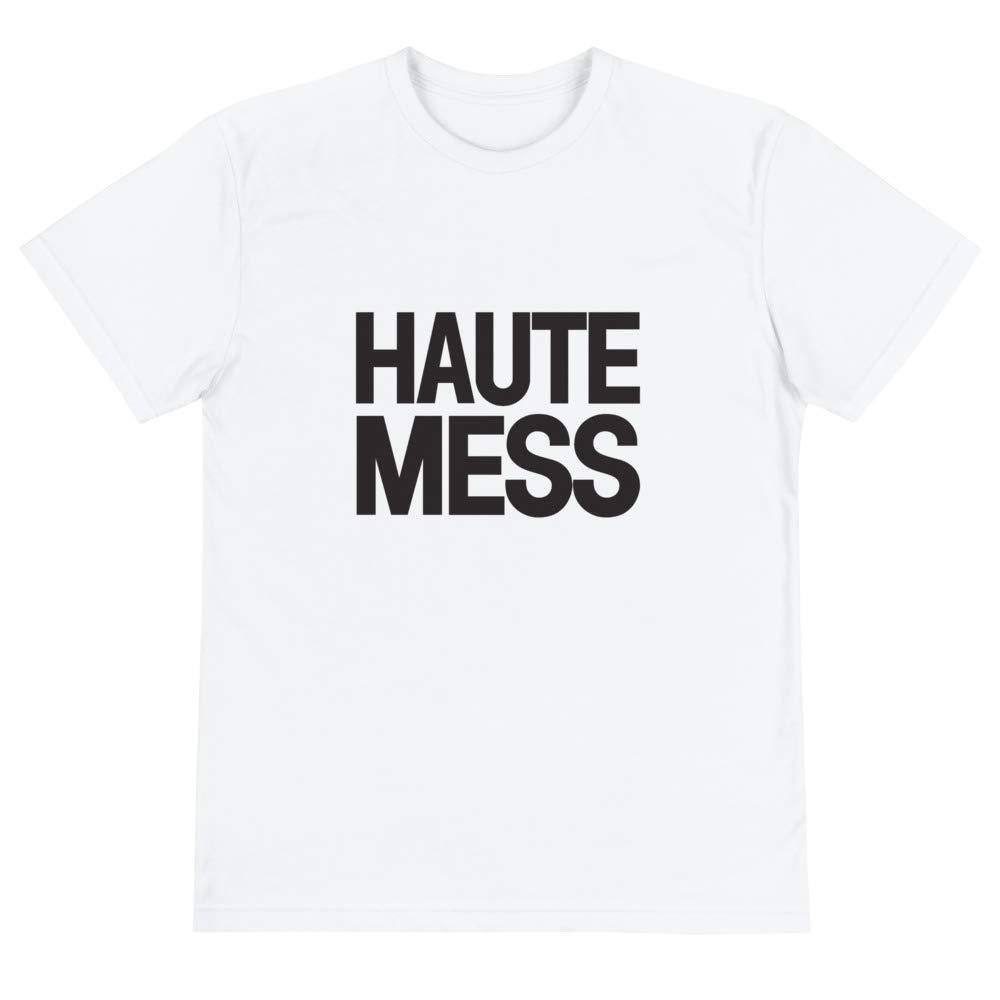Haute Mess Black Graphic Eco Tee
