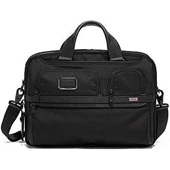 16a200756645 TUMI - Alpha 3 T-Pass Medium Screen Laptop Slim Brief Briefcase - 14 Inch  Computer Bag for Men and Women - Black