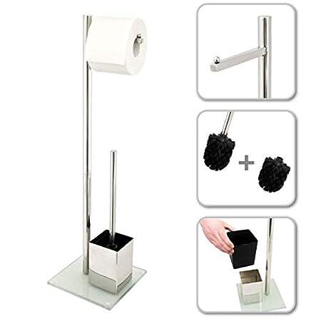 Bremermann WC-Cepillo de plástico blanco