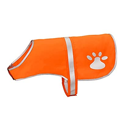 Reflective Safety Vest for Dogs, High Visibility Dog Vest Harness