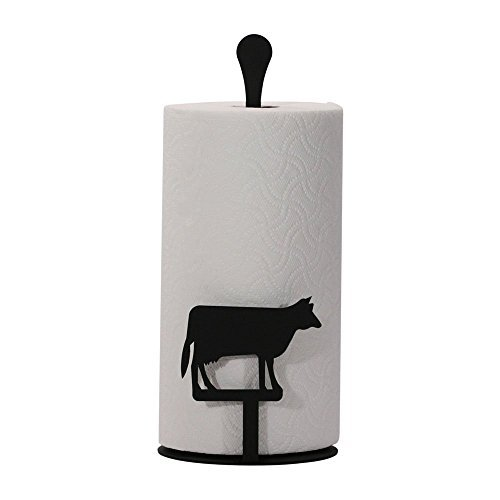 (Cow - Paper Towel Stand Home Kitchen Furniture Decor)