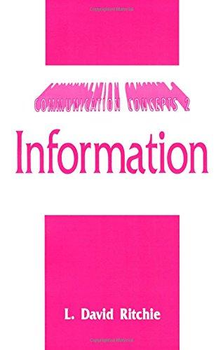 Information (Communication Concepts)