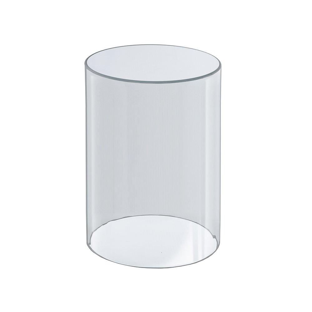 Azar Displays 556610 6-Inch W by 10-Inch H Clear Acrylic Cylinder