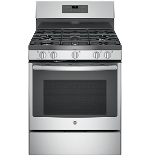 GE JGB660SEJSS 30″ Stainless Steel Gas Sealed Burner Range