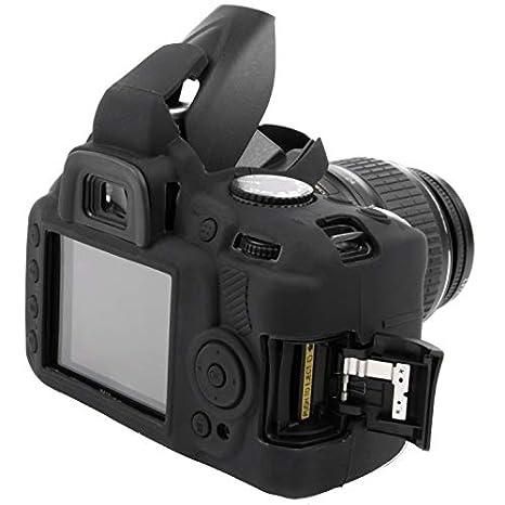 Starblitz 580072 - Funda de Silicona para Nikon D3000: Amazon.es ...