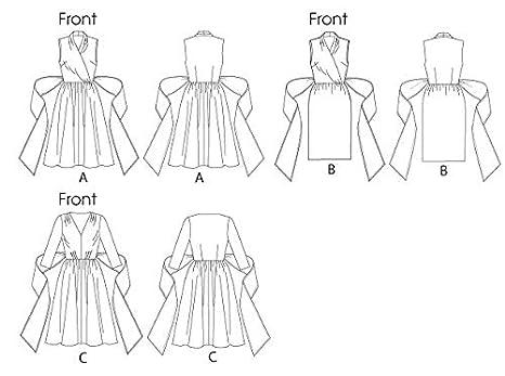 Butterick B5850 - Patrones de costura (vestidos para mujer, 4 modelos, en inglés y alemán): Amazon.es