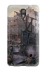 New Style 9656951K99872476 MarvinDGarcia Scratch-free Phone Case For Galaxy Note 3- Retail Packaging - Assassin's Creed: Unity
