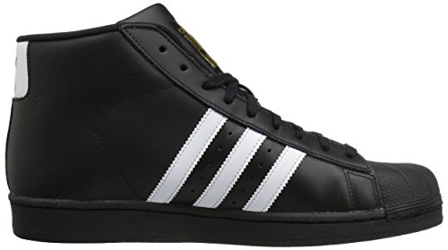 adidas Performance Herren Pro Model Basketballschuh Schwarz / Weiß / Metallic Gold
