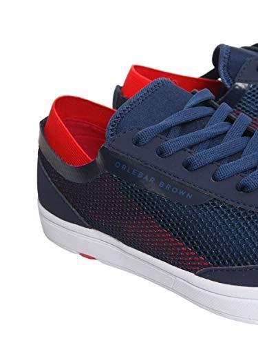 Blu Sneakers Orlebar Tessuto Uomo Brown 26738224311 XCXvqRp