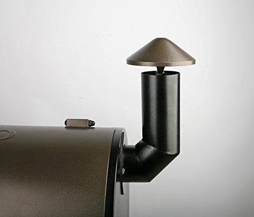YOYO-684SQIN-Wood-Pellet-Grills-Barbecue-Grill-Smoker-Smart-Digital-Controls-484-W-x-51H-x-224D