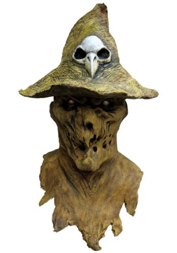 Evil Scarecrow Costume (Evil Scarecrow Mask Wizard Of Oz Halloween Costumes)