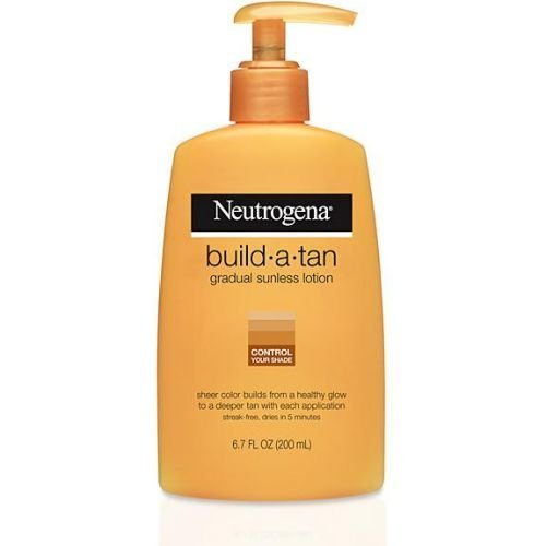 Neutrogena Build-A-Tan Gradual Sunless Tan, 6.7 Fluid Ounce