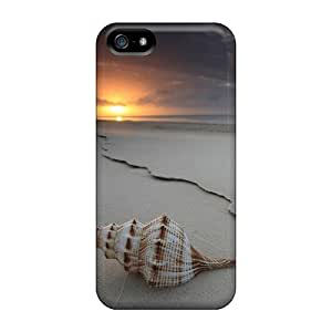 High Quality IVpqial545foDTe Seashell And Sunset Tpu Case For Iphone 5/5s