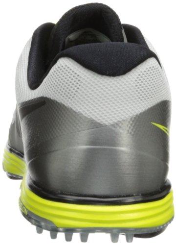 Nike Golf Mens Nike Lunar Ascend Ii Scarpa Da Golf, Base Leggera Grigio / Grigio Base Grigio / Veleno Verde / Nero, 9 Giorni (m) Us