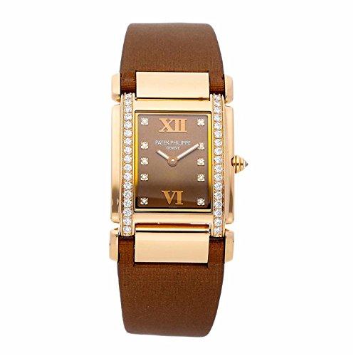 Patek Philippe Twenty-4 quartz womens Watch 4920R-001 (Certified Pre-owned) - Patek Philippe Ladies