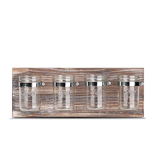 Rustic Antique Mason Jar Organizer - Office, Bathroom,