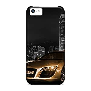 KellyLast Iphone 5c Bumper Hard Phone Cover Allow Personal Design Trendy Audi R8 Pattern [jKV12258svSl]