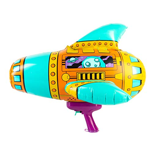 SwimWays Blow Up Blaster - Inflatable Space Water Blaster Pool Toy